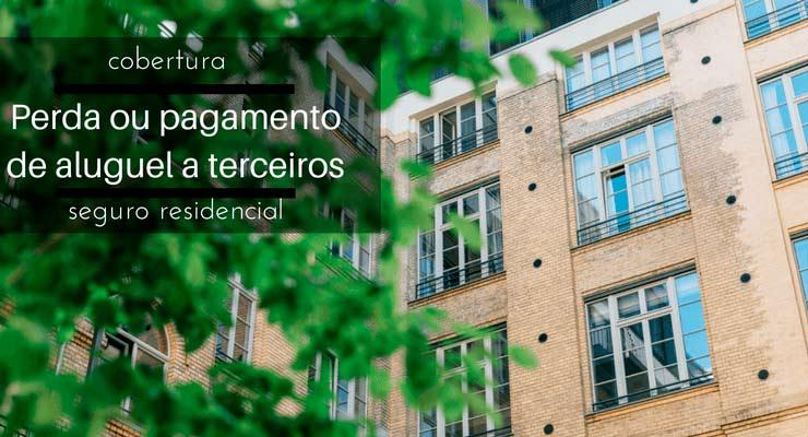 """Imagem de uma casa com a descrição """"Cobertura Perda ou pagamento seguro residencial"""""""
