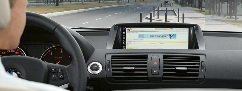 ConnectedDrive é a tecnologia que integra os carros da BMW com a internet.