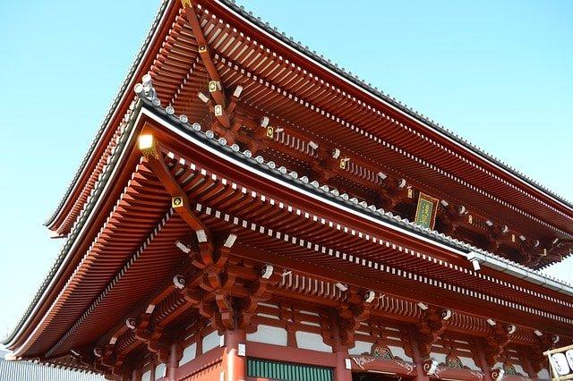 foto do Templo Sensō-ji em Tóquio