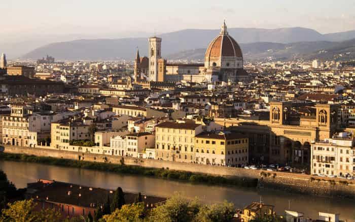 Foto de Florença para texto sobre viagem para Itália